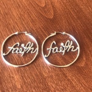 Disney Couture Faith hoops